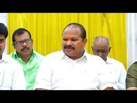 Shri Kanna Laxminarayana garu addressing press conference at Ongole   17-02-2019 1