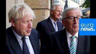 Live | Boris Johnson meets Juncker in Luxembourg Video