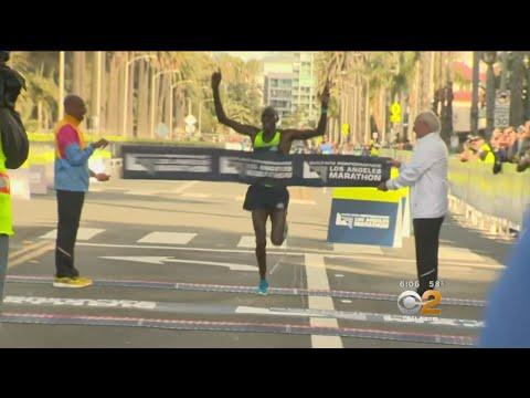 Thousands Take Part In LA Marathon, New Course