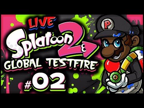 SPLATOON 2 GLOBAL TESTFIRE LIVESTREAM w/ Splat Roller! #2 (3/24/17) #BestRoller2017