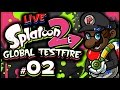 SPLATOON 2 GLOBAL TESTFIRE LIVESTREAM w/ Splat Roller! #2 (3/24/17) #BestRoller2017