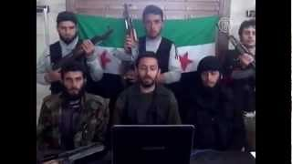 Химическая атака боевиков в Сирии
