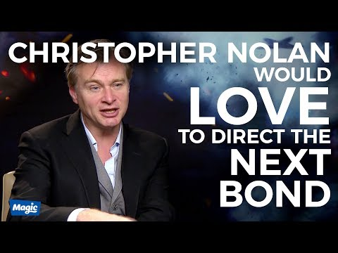 Christopher Nolan would LOVE direct the next Bond | Dunkirk Interview | Magic Radio