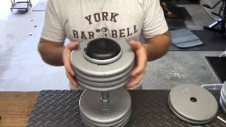 Building a Pro Style Dumbbell