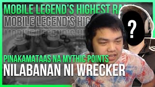 Download lagu WRECKER VS HIGHEST MYTHIC IN HISTORY
