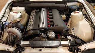 How to turbo BMW m50/m52 engine, S03E01 New season, new parts