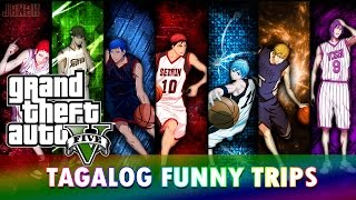 GTA 5 Online [PS4] Tagalog Funny Trips: Kuroko's Basketball,  Mang Juan, Takutan, Indian Attack 2