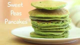 Sweet Peas Green Pancakes Recipe