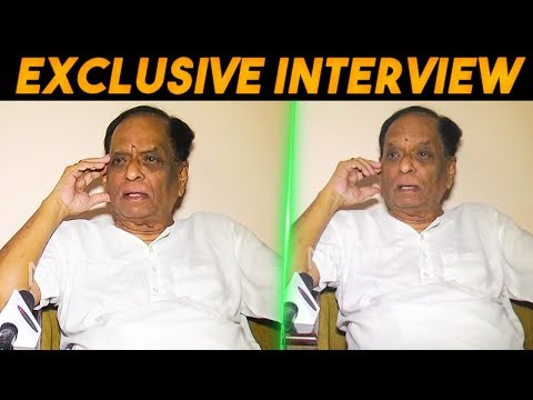Padma Vibhushan - Carnatic Vocalist Dr. M. Balamuralikrishna Interview