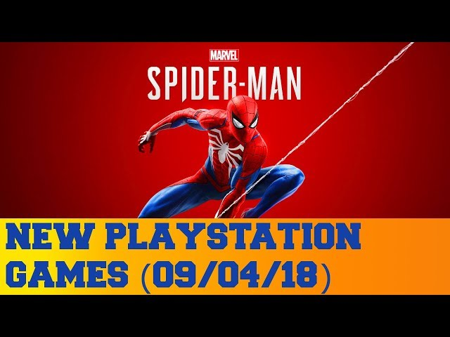 New PlayStation Games for September 4th 2018