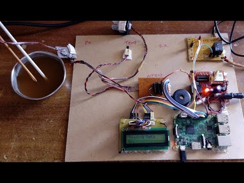 IOT Based Industrial Water Quality Monitoring System using Temperature, Ph  and Turbidity Sensors