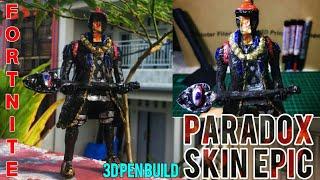 3D Pen | Making PARADOX and Vision Skin Epic ( Fortnite Battle Royale) DIY