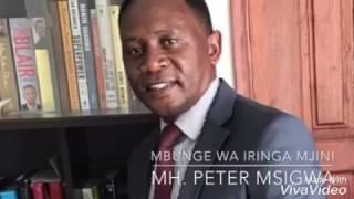 PITA MSIGWA AWAVUA NGUO CCM