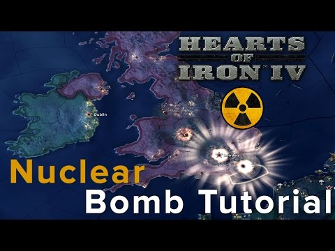 Hearts of Iron 4: Nuclear Bomb Tutorial