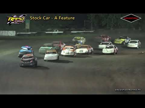 Stock Car Feature - Rapid Speedway - 7/20/18