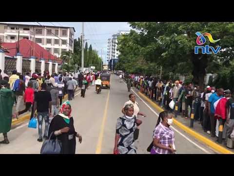 Ghasia Mombasa Masaa Machache Kabla Ya 'curfew' Kuanza