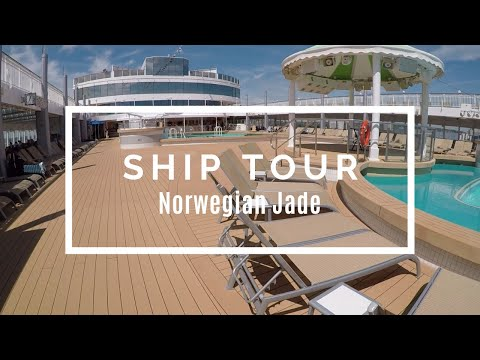 Norwegian Jade Ship Tour 2017