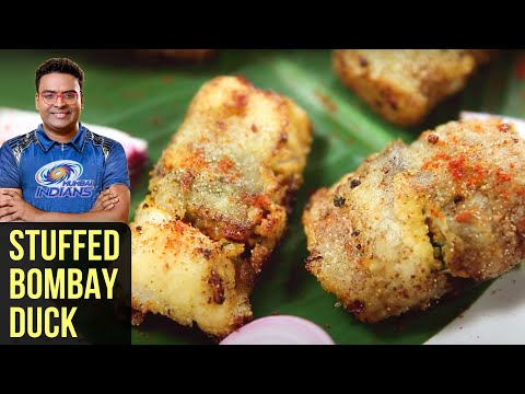 Stuffed Bombay Duck | How To Make Stuffed Bombil | Fish Recipe | Indian Culinary League | Varun