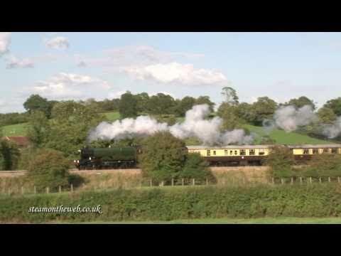 5043 Earl of Mount Edgcumbe on N. Warwicks with Shakespeare Express120910