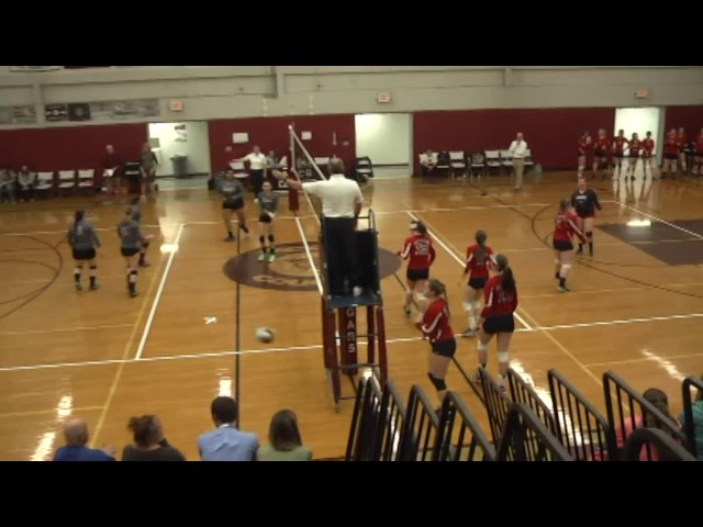 NCCS - AuSable Valley Volleyball C Semi Final  11-2-16