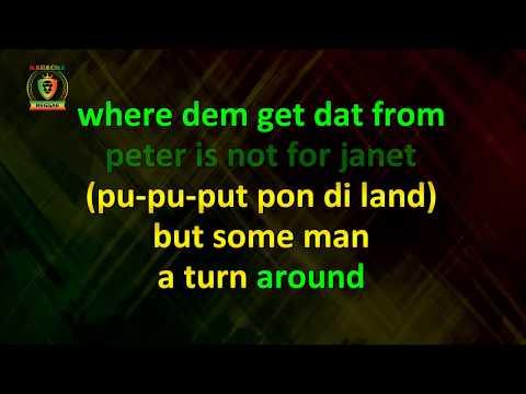 Buju Banton - Boom Bye Bye (With Vocals) (Karaoke Version)