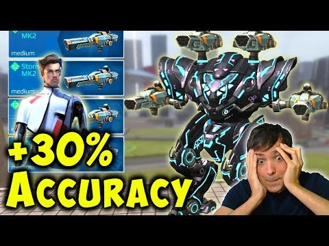 NEW STORM SPECTRE +30% Accuracy Skill - War Robots Mk2 Gameplay WR