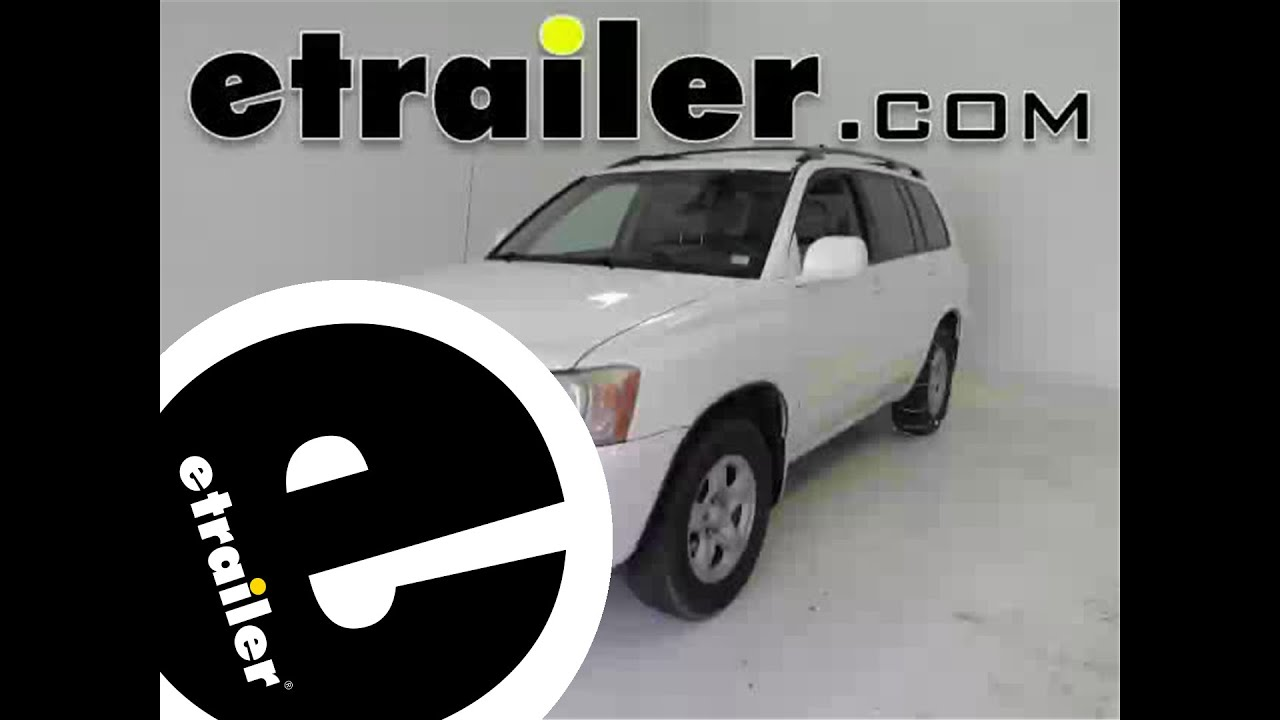 Glacier Cable Snow Tire Chains Review 2003 Toyota Highlander Etrailer