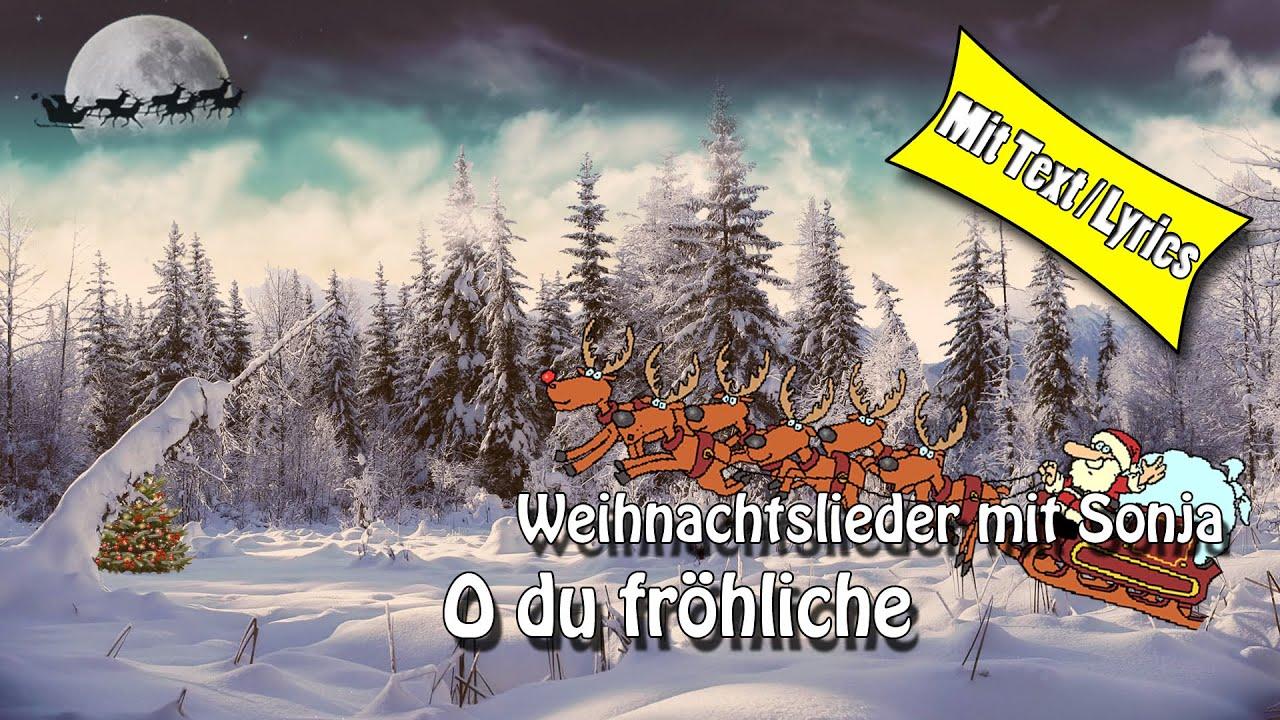 weihnachtslieder christmas song o du fr hliche zum mitsingen lyrics youtube