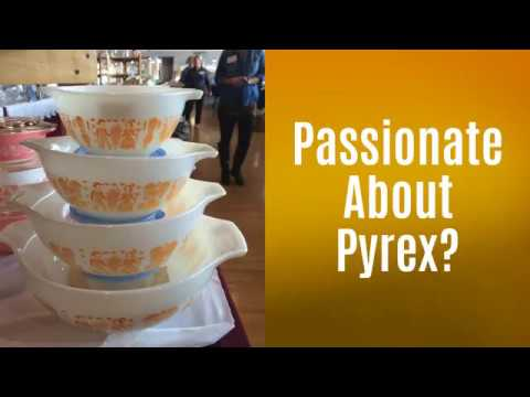 Vintage Pyrex – Michigan Depression Glass Society 2018 Annual Show