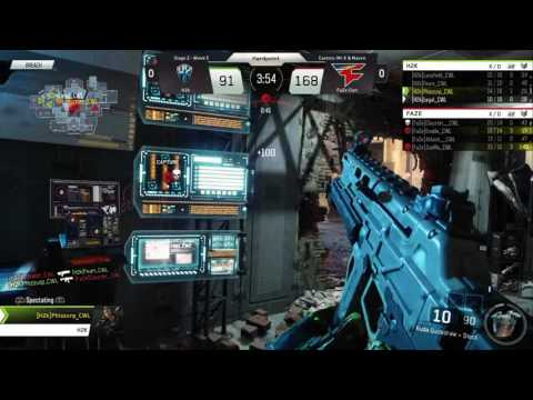 5/17 NA Pro Division FaZe Clan vs H2K - Call of Duty® World League
