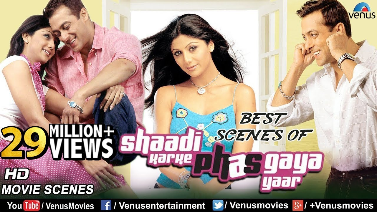 Download Best Scenes Of Shaadi Karke Phas Gaya Yaar | Salman Khan | Shilpa Shetty | Bollywood Romantic Scenes
