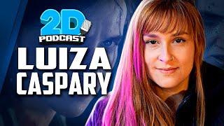 Luiza Caspary, DUBLADORA da Ellie em THE LAST OF US - 2D Podcast