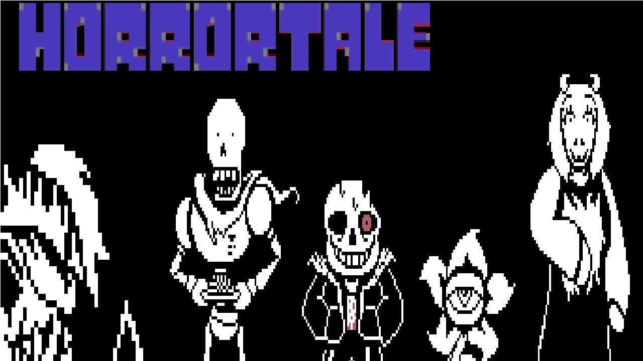 Horrortale True Pacifist Route | Undertale FanGame
