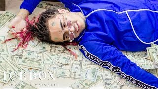 Lil Pump Makes It Rain $500K At Icebox!