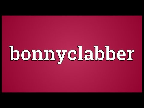 Header of bonnyclabber