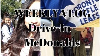 Weekly Vlog- Drive In+ McDonalds [Oct 2014] Thumbnail