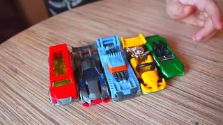 Распаковка игрушек. hot wheels машинки (Хот Вилс)