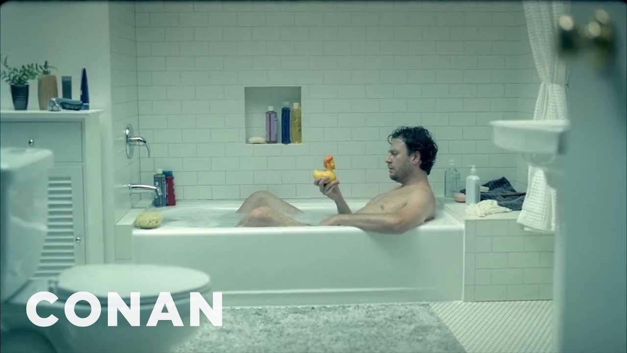 Conan O Brien Tbs Promo Missing You Bathtub