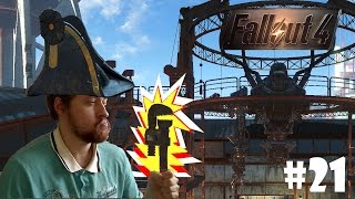 Fallout 4 21 Строим большого робота Финал стримчик