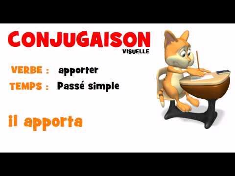 Conjugaison Apporter Passe Simple Youtube