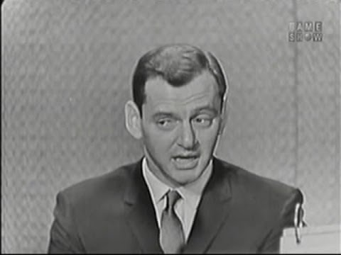 What's My Line? - Tony Randall; Mort Sahl [panel] (Aug 23, 1959)