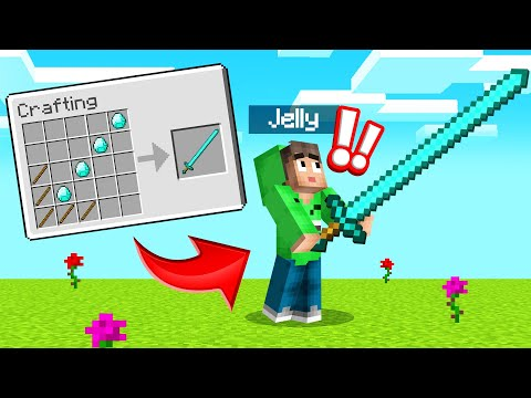 CRAFTING *NEW* MEGA WEAPONS In MINECRAFT! (Insane)