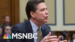 James Comey Double Standard Seen In New FBI Leaks | Rachel Maddow | MSNBC