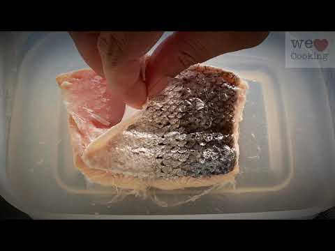 Tip Of The Week : How To Remove Fish Fillet Skin Easily || Remove Fish Fillet Skin In A Minute..!