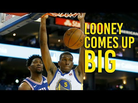 Warriors forward Kevon Looney coming up big