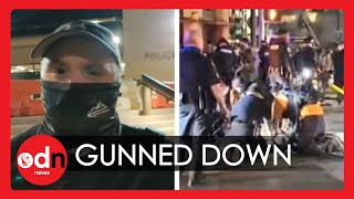 Shocking Moment BLM Protester Gunned Down at Close Range in Austin