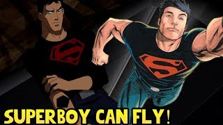 Why Can't Superboy Fly in Young Justice?