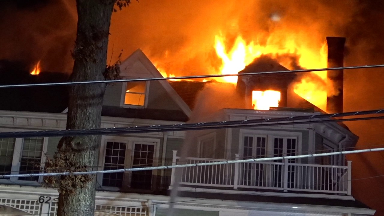 Dover New Jersey Working Apartment House Fire 1 13 17 4th