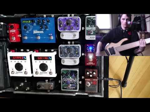 MXR M85 Bass Distortion Review (Bass Effects Demo)