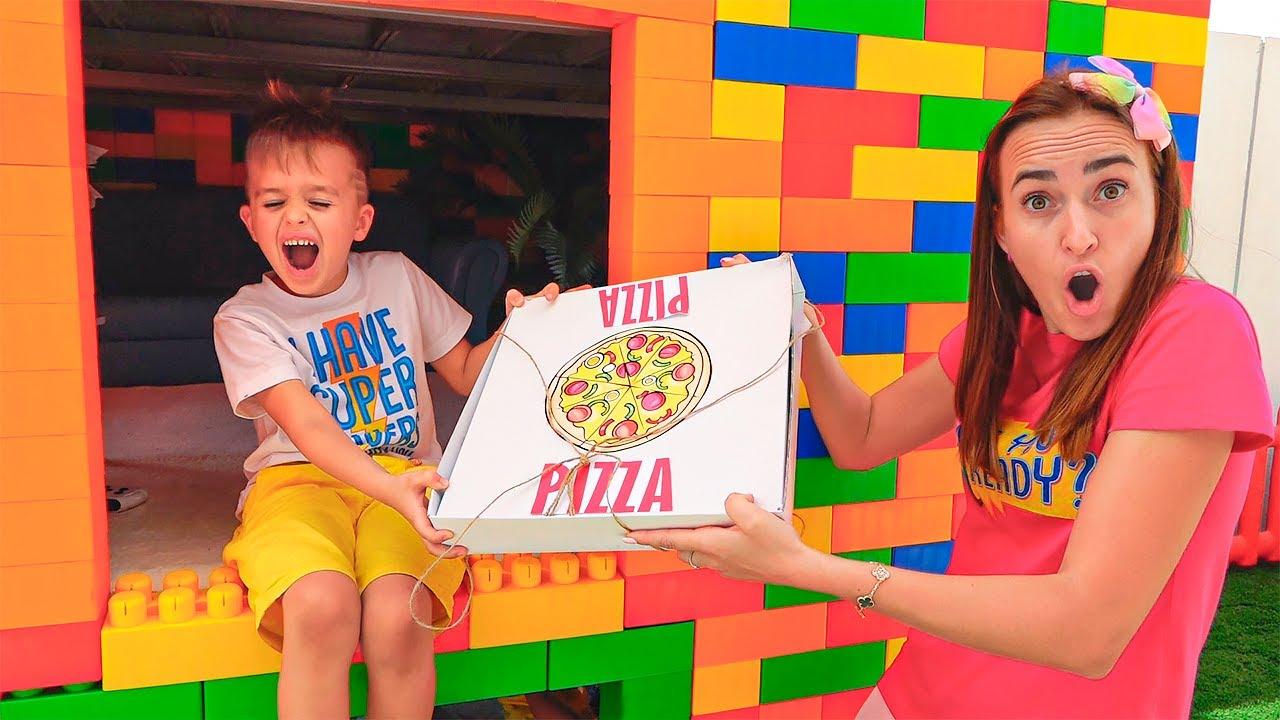 블라드와 니키는 장난감을 가지고 놀이를 척 - 어린이를위한 재미 있은 비디오를